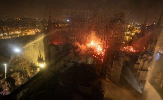 [Catedral de Notre-Dame recebeu só 9% das doações prometidas]