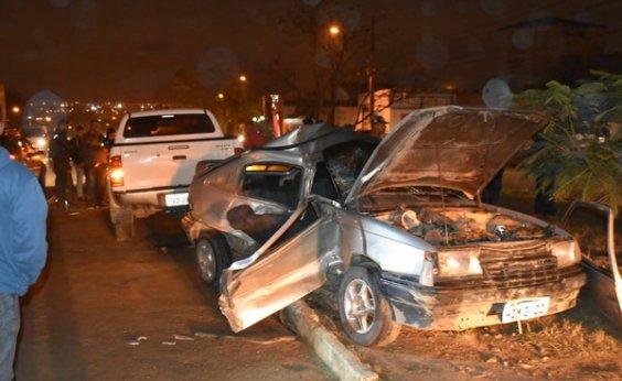 [Vitória da Conquista: batida entre carro e caminhonete deixa seis pessoas feridas]