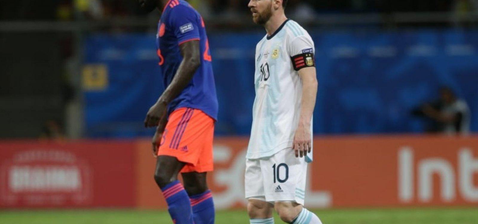 ['Não há tempo para lamentar-se', diz Messi após derrota em Salvador]