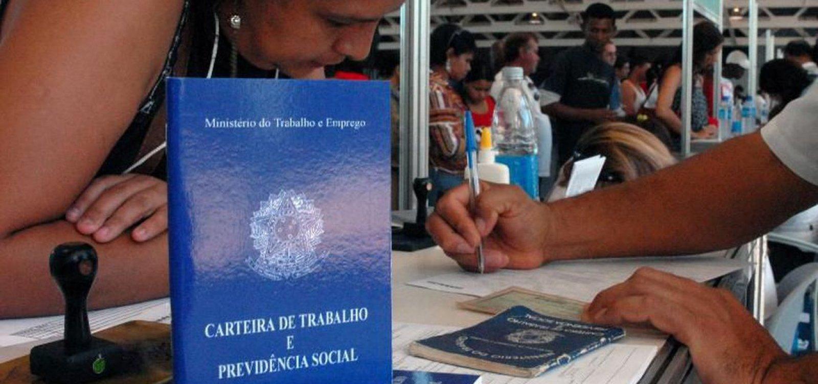 [Salvador registra mais de 68 mil empregos formais em dois anos]