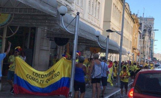[Colombianos envolvidos em briga na Fonte Nova devem deixar o Brasil]