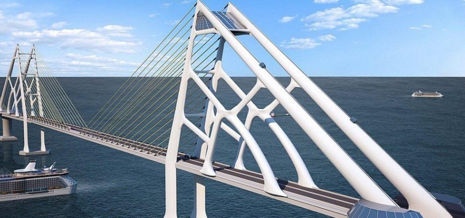 [Pedágio da Ponte Salvador-Itaparica custará R$ 45]