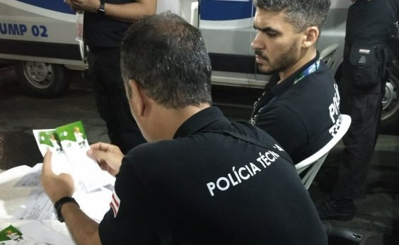 [PM apreende três ingressos com indícios de falsificação para jogo na Fonte Nova]