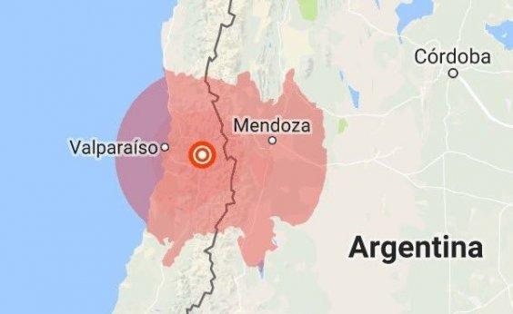 [Terremoto sacode regiões de Argentina e Chile]