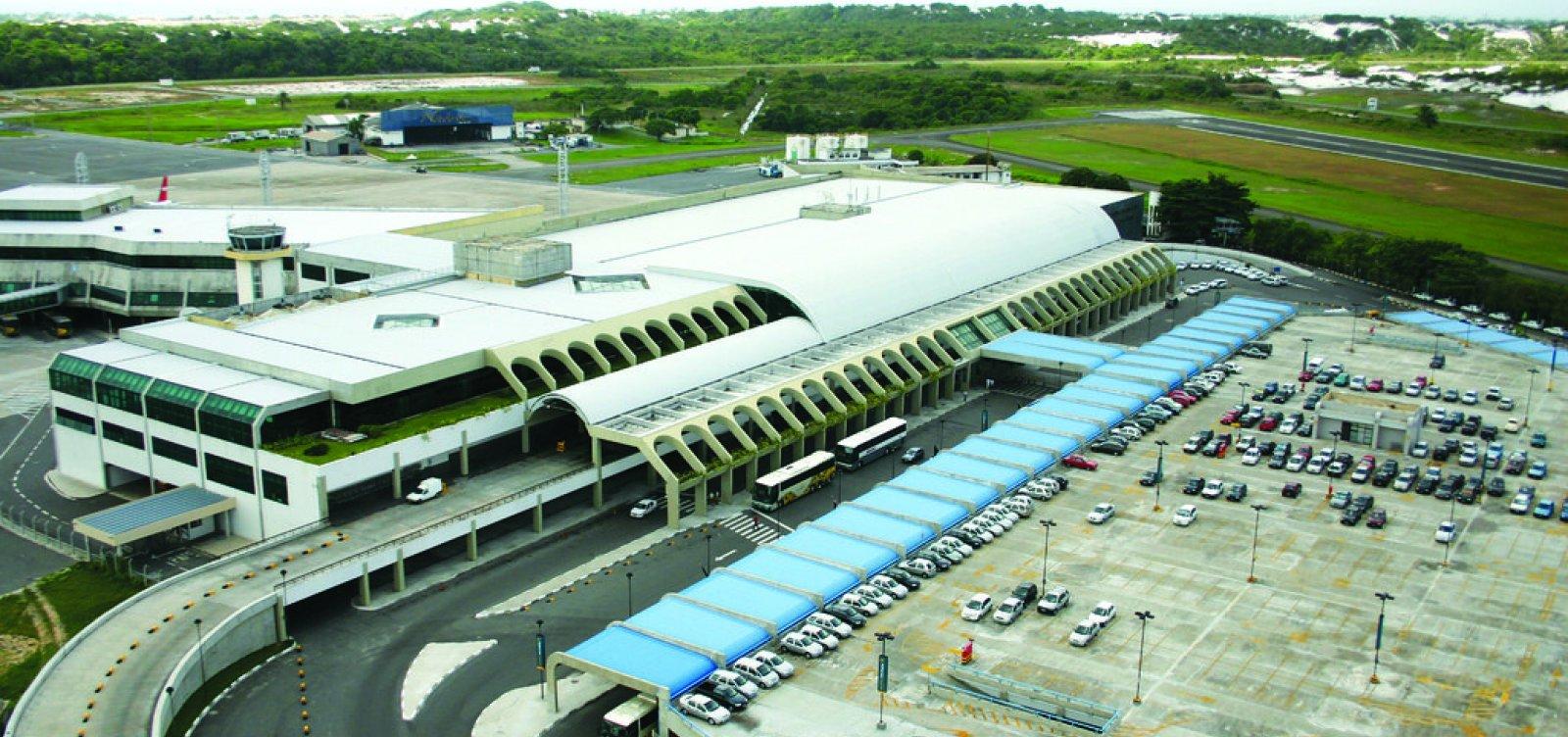 [Serviços na pista principal do aeroporto de Salvador são interrompidos]