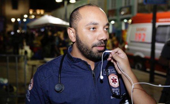 [Casos de intoxicação alcoólica lideram atendimentos no São João do Pelourinho]