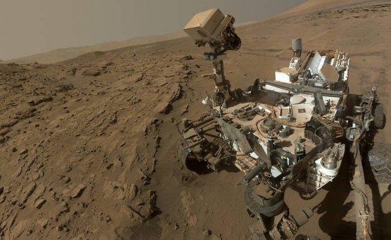 [Veículo em Marte detecta nuvem de gás que sugere vida microbiótica]