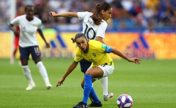 [Brasil perde para a França na prorrogação e é eliminado do Mundial Feminino]