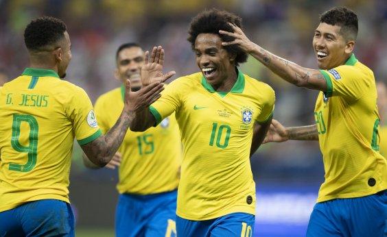 [Copa América: Brasil conhecerá hoje seu adversário das quartas de final]