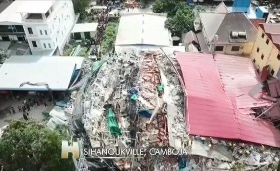 [Prédio cai e mata 28 trabalhadores no Camboja]