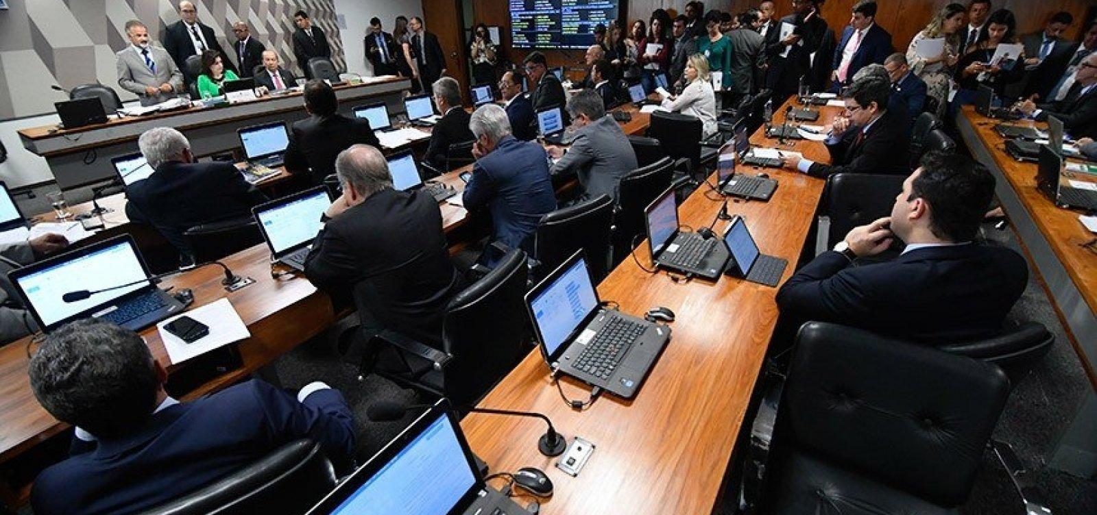 [Comissão no Senado sabatina quatro indicados ao Conselho Nacional do Ministério Público]