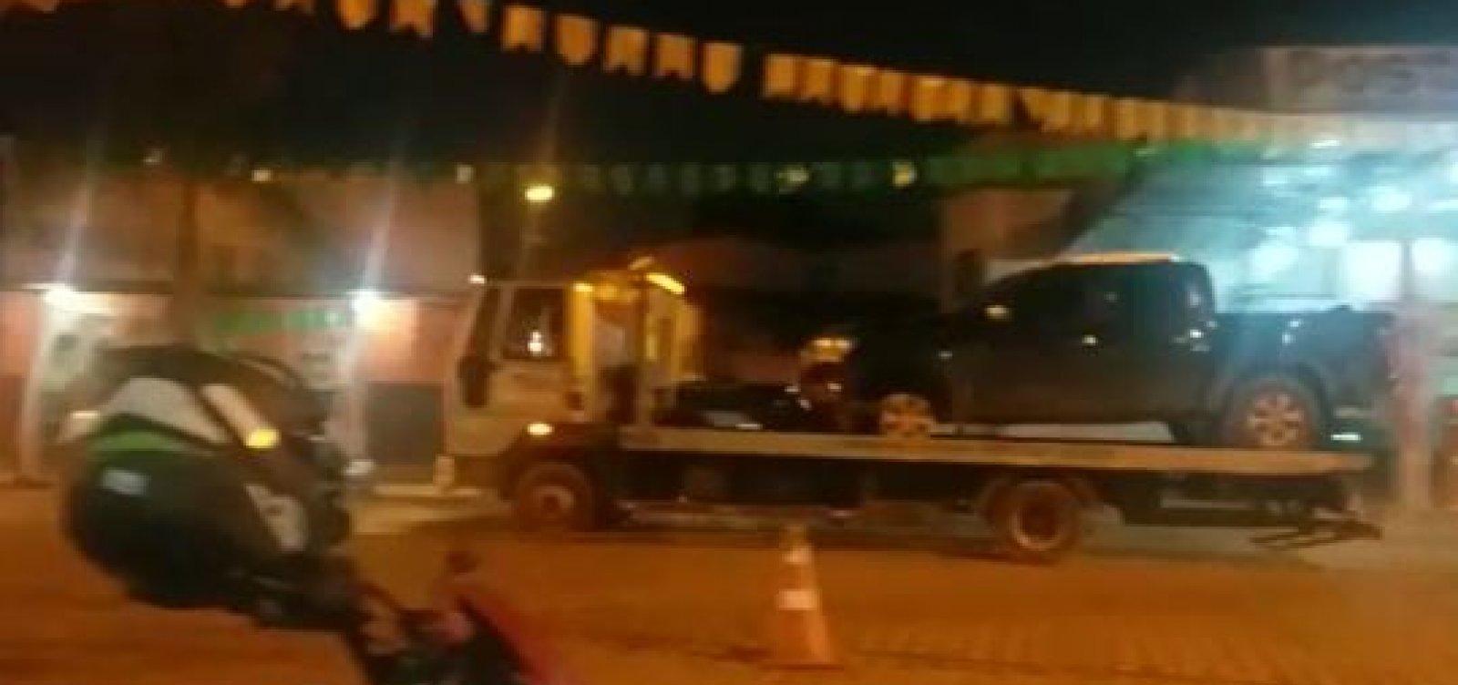 [Motorista é preso após atropelar público durante festa em Ibicuí]