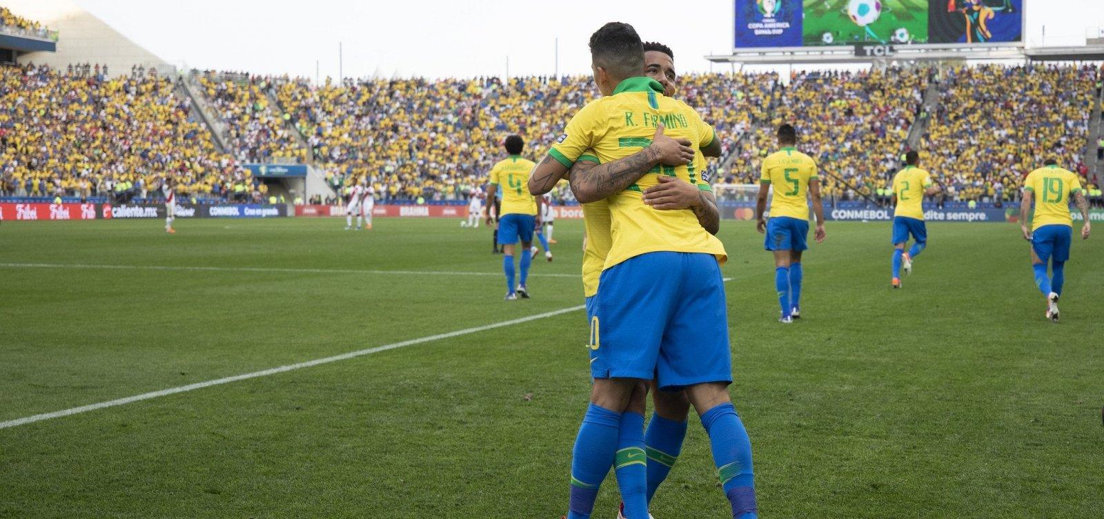 [Brasil enfrenta o Paraguai nas quartas de final da Copa América]