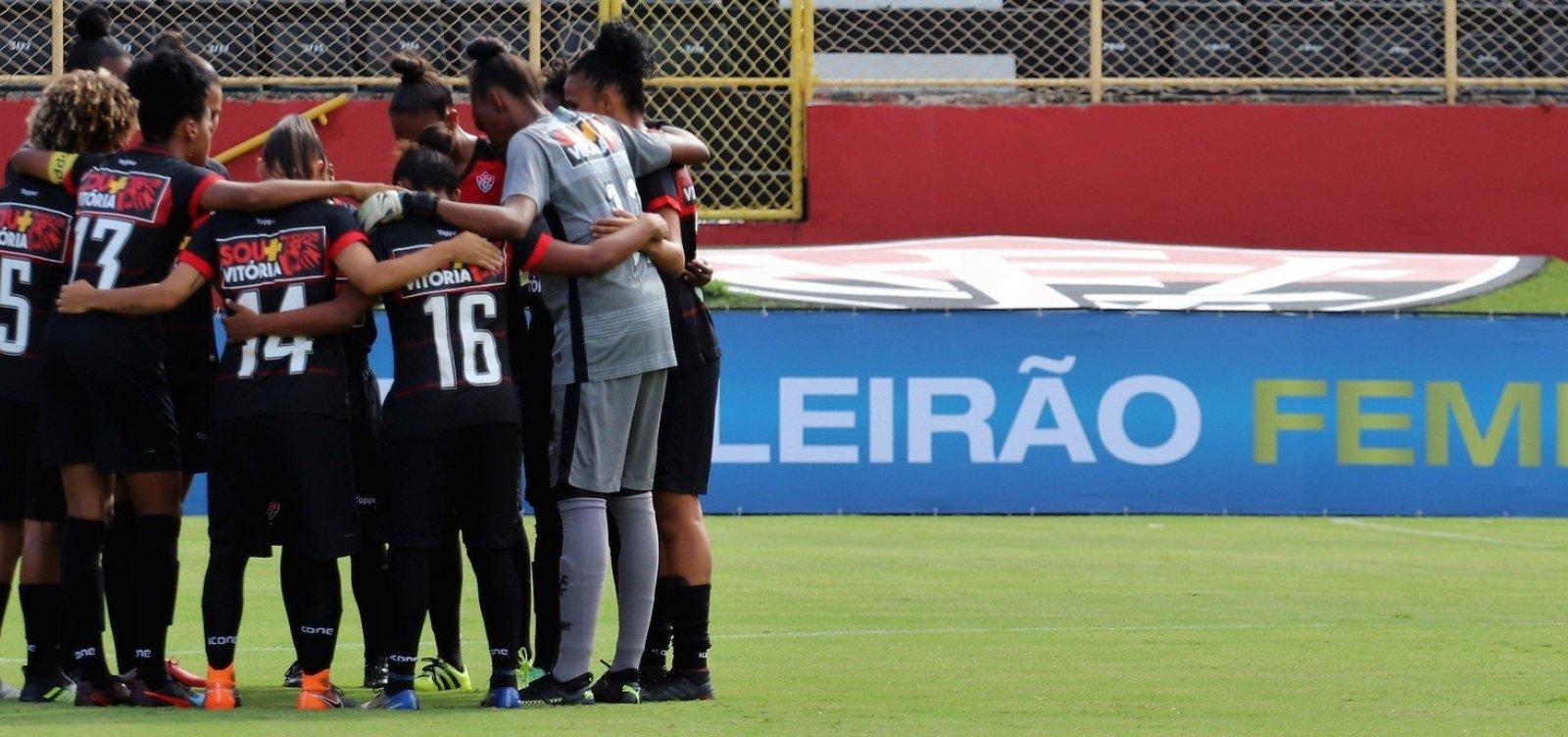 [Futebol feminino: time do Vitória passa a mandar jogos em Praia do Forte]