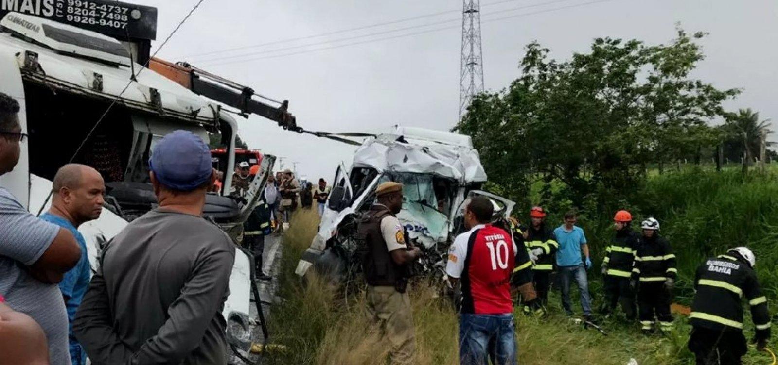 [Rodovias estaduais da Bahia registram 16 mortes no feriadão, aponta PRE]
