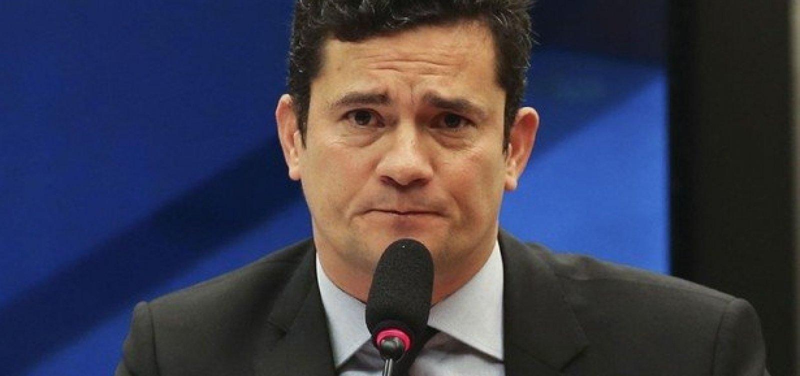 [Presidente da CCJ diz que Moro vai à Câmara no próximo dia 2]
