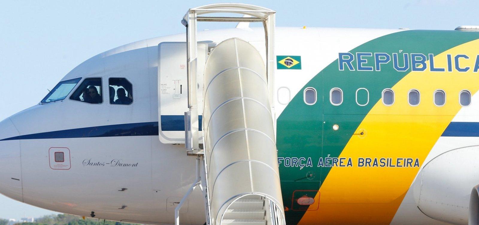 [Militar da mala de cocaína voou com Bolsonaro em fevereiro deste ano]