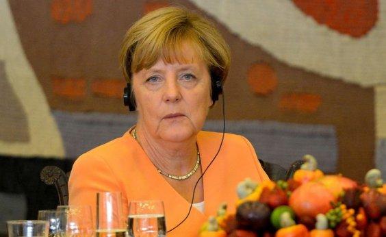 [Angela Merkel quer 'discussão clara' com Bolsonaro sobre desmatamento]