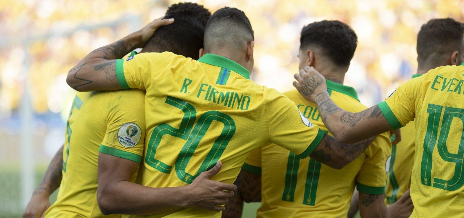 [Copa América: Brasil enfrenta Paraguai nas quartas e tenta vencer tabu]