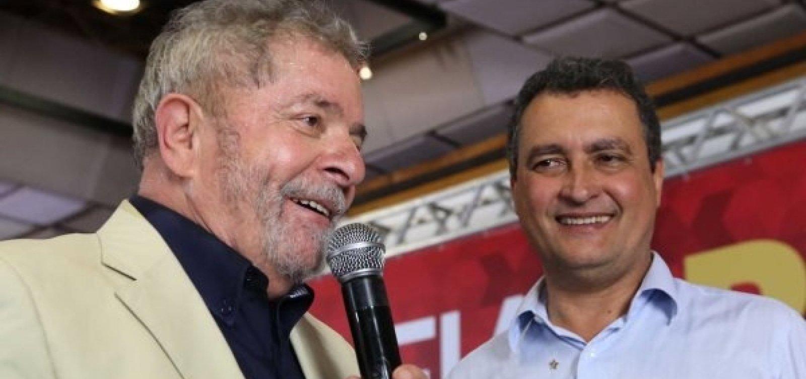 [Rui Costa e Wellington Dias visitam Lula em Curitiba hoje]