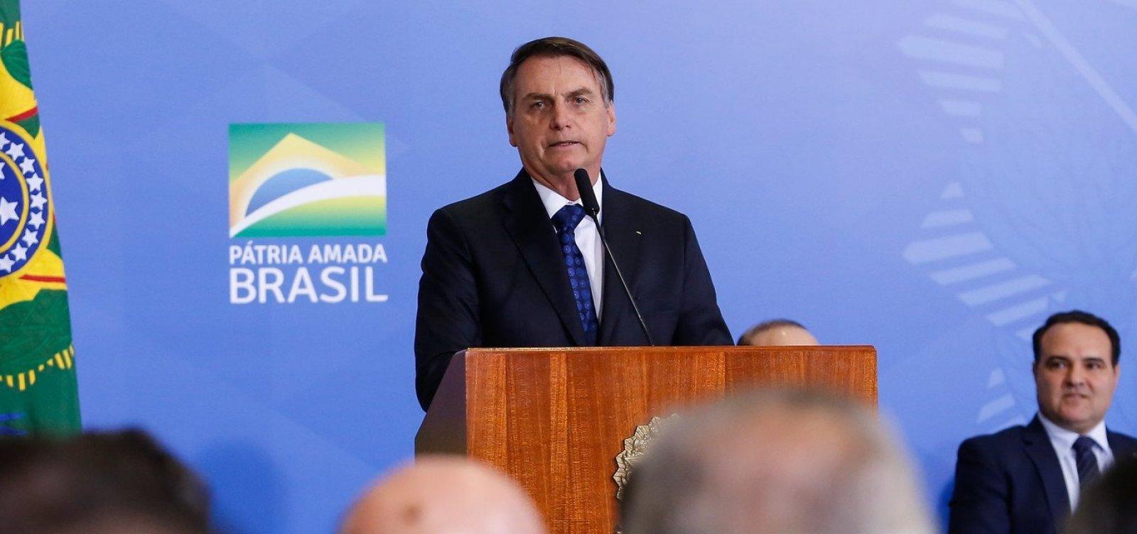 [Ibope: governo Jair Bolsonaro tem aprovação de 32% e reprovação de 32%]