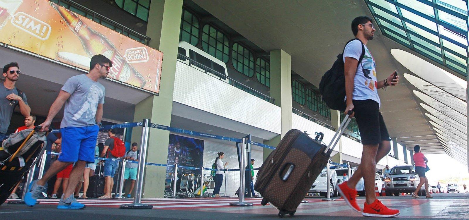[Aeroporto de Salvador sofre com falta de energia no início da tarde]