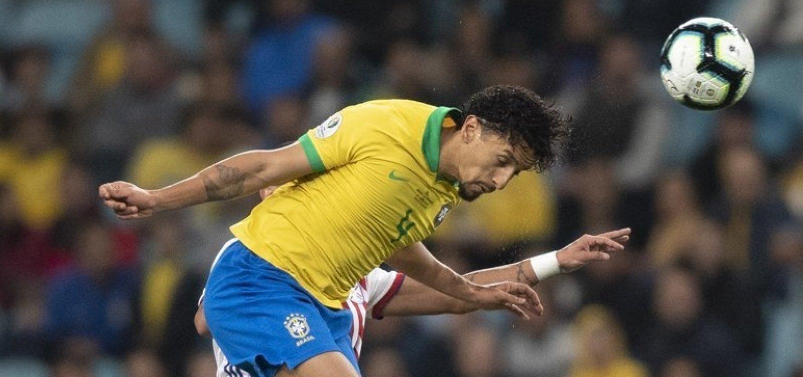 [Brasil vence o Paraguai nos pênaltis e avança na Copa América]