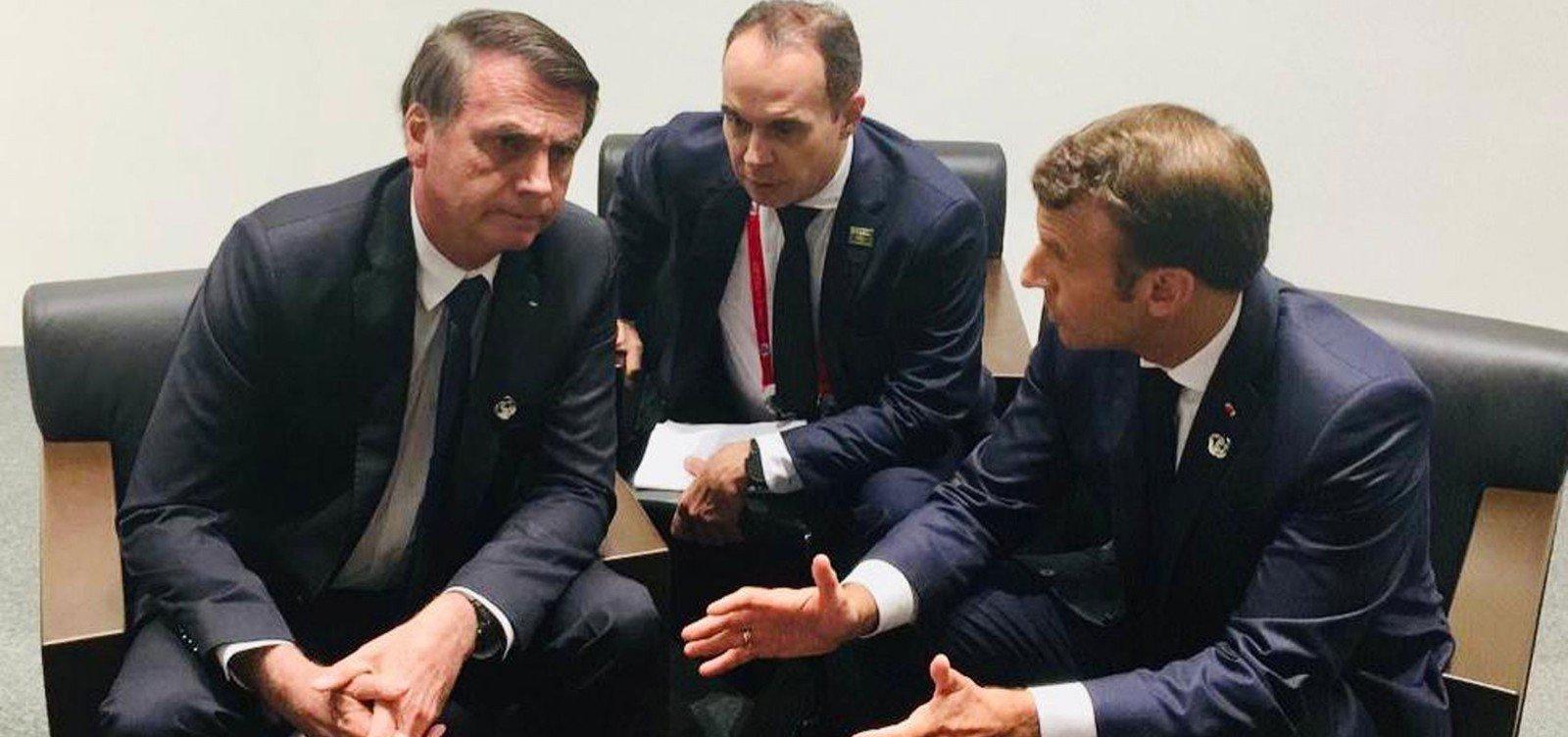 [Em encontro com Macron, Bolsonaro sinaliza que Brasil vai continuar no Acordo do Clima de Paris]