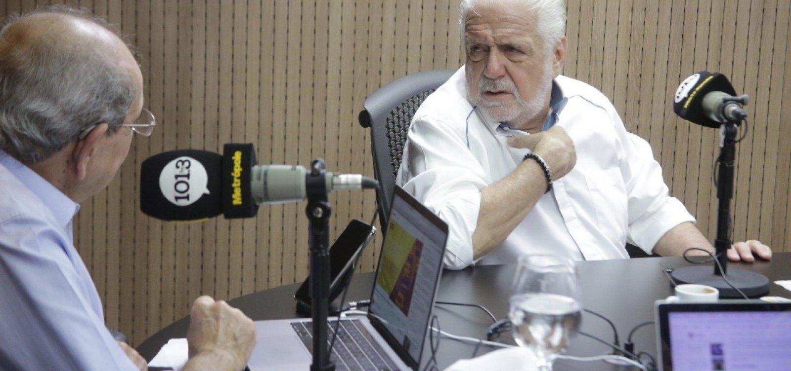 [Wagner relata conselhos a Flávio Bolsonaro: 'Todo mundo fala que ele é o cara mais razoável']