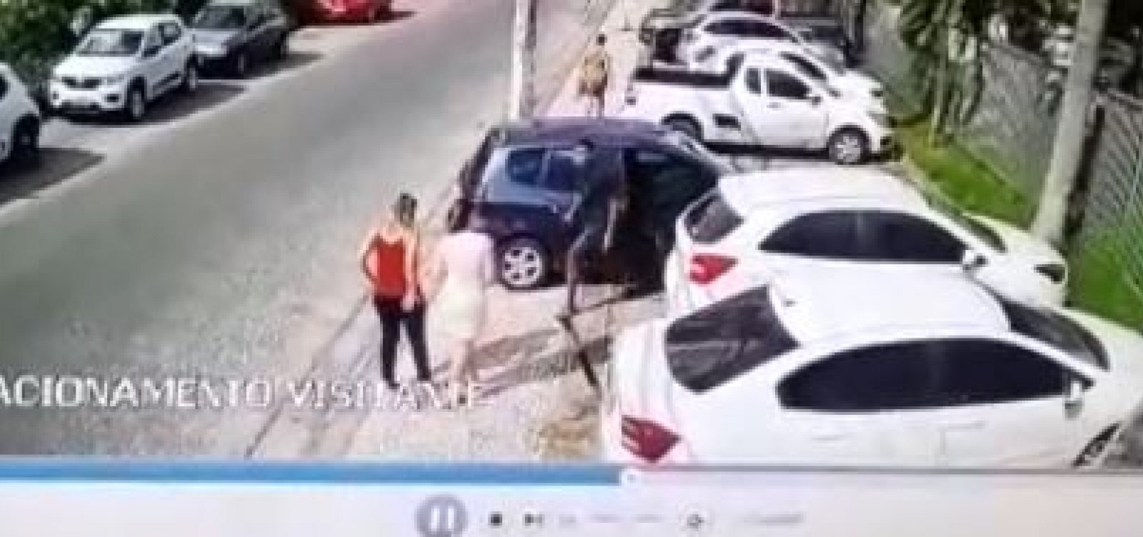 [Bandidos fingem ser visitantes e roubam vítimas em condomínio no Stiep; veja vídeo]