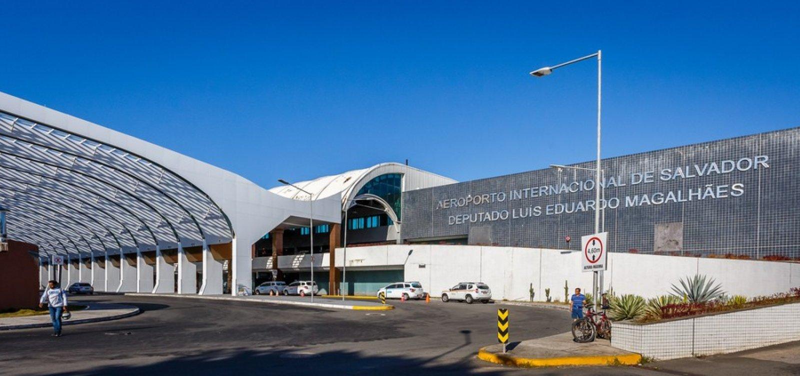 [Aeroporto de Salvador registra queda no movimento de passageiros nos primeiros meses do ano]