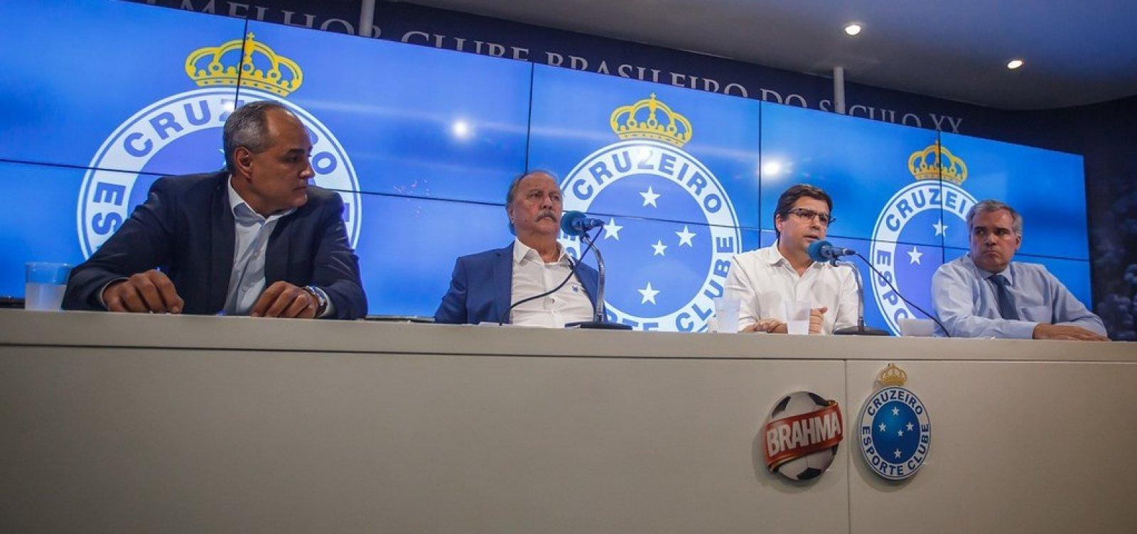 [Polícia cumpre mandados de busca e apreensão na sede do Cruzeiro]