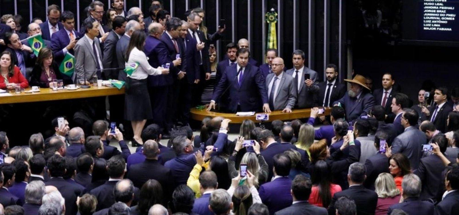 [Reforma da Previdência é aprovada em primeiro turno na Câmara]