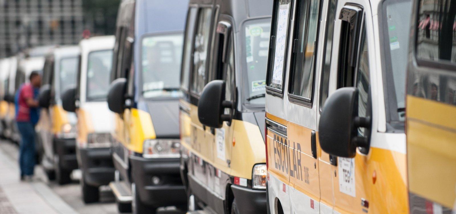 [Doria corta ônibus fretados para milhares de alunos da rede estadual de São Paulo]