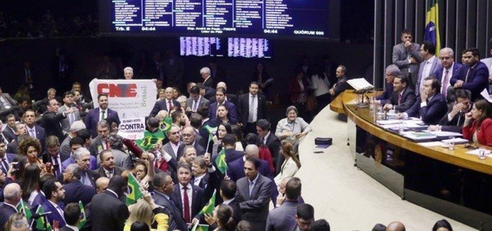 [Em meio a votação da reforma, governo libera mais R$ 439 mi para emendas parlamentares]