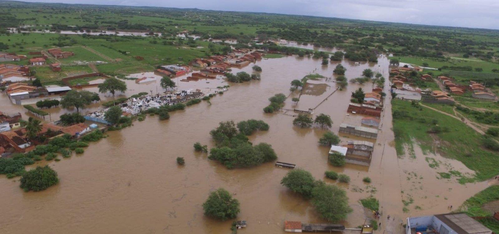 [Após rompimento de barragem, casas em Coronel João Sá são evacuadas]