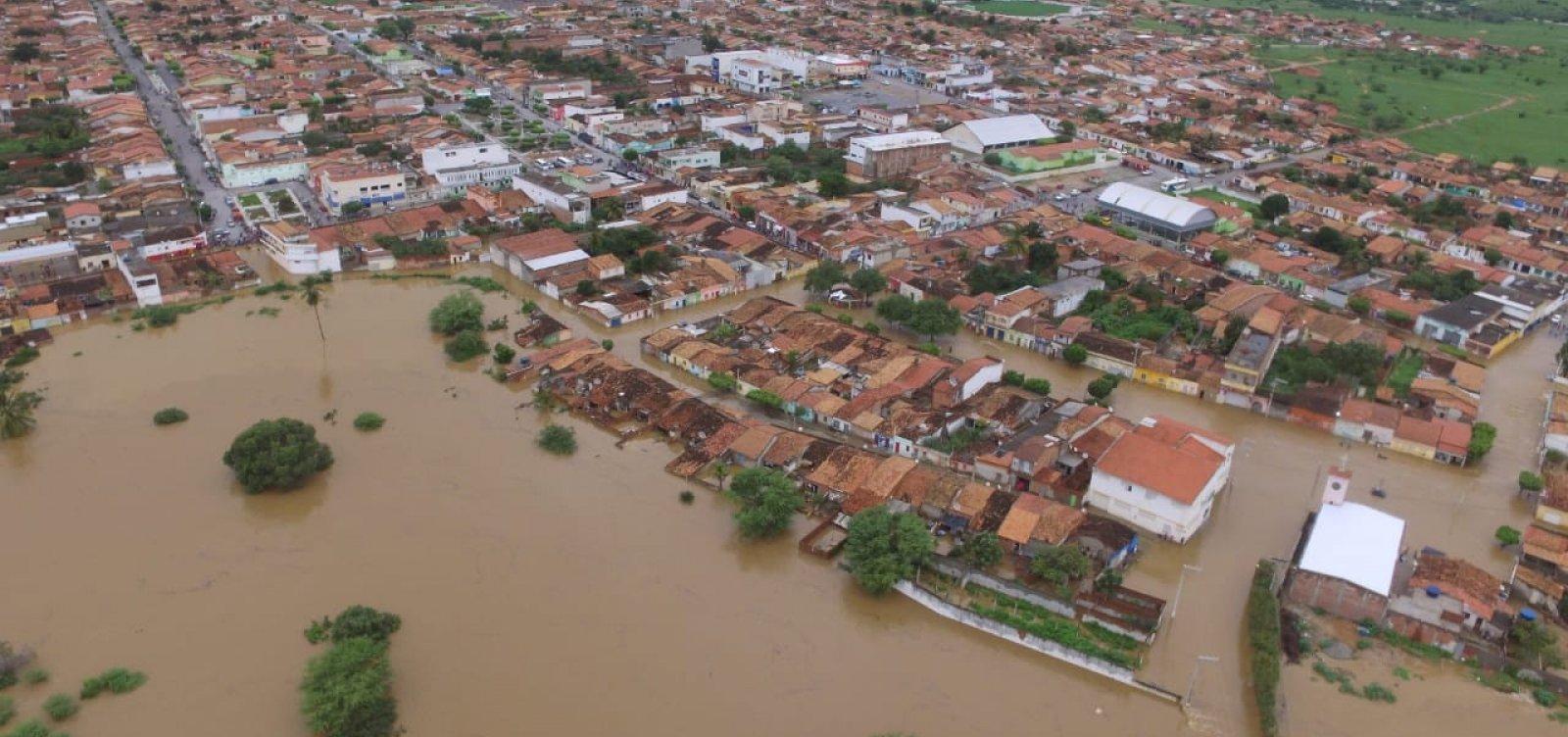 [ 'Não houve rompimento de barragens em Pedro Alexandre', diz secretário de comunicação do Governo]