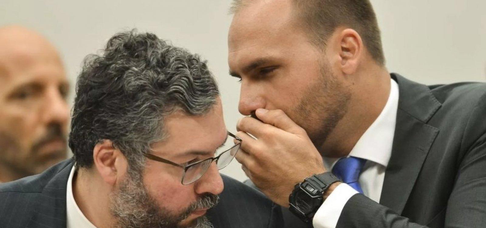 [Eduardo Bolsonaro diz ter 'vivência pelo mundo' para ser embaixador: 'Já fritei hambúrguer nos EUA']