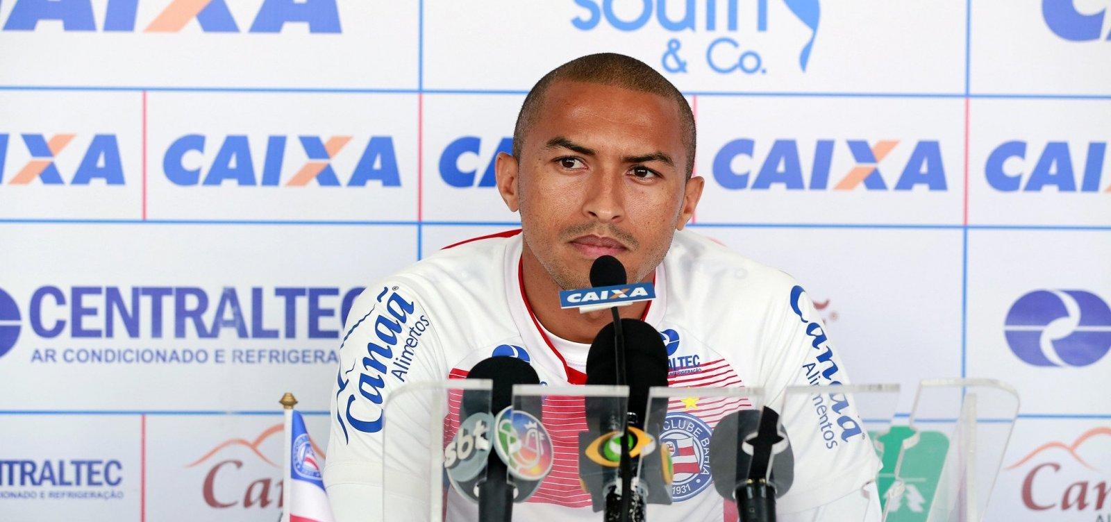 [Após lesão, Nino Paraíba é vetado de jogo contra o Santos]
