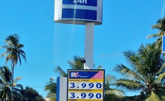 [Preço do combustível cai em Salvador; sindicato não garante manutenção]