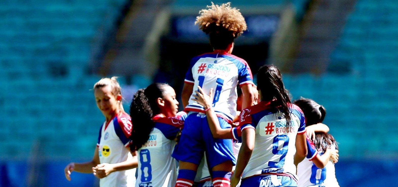 [Bahia encerra parceria e vai fundar novo time de futebol feminino]