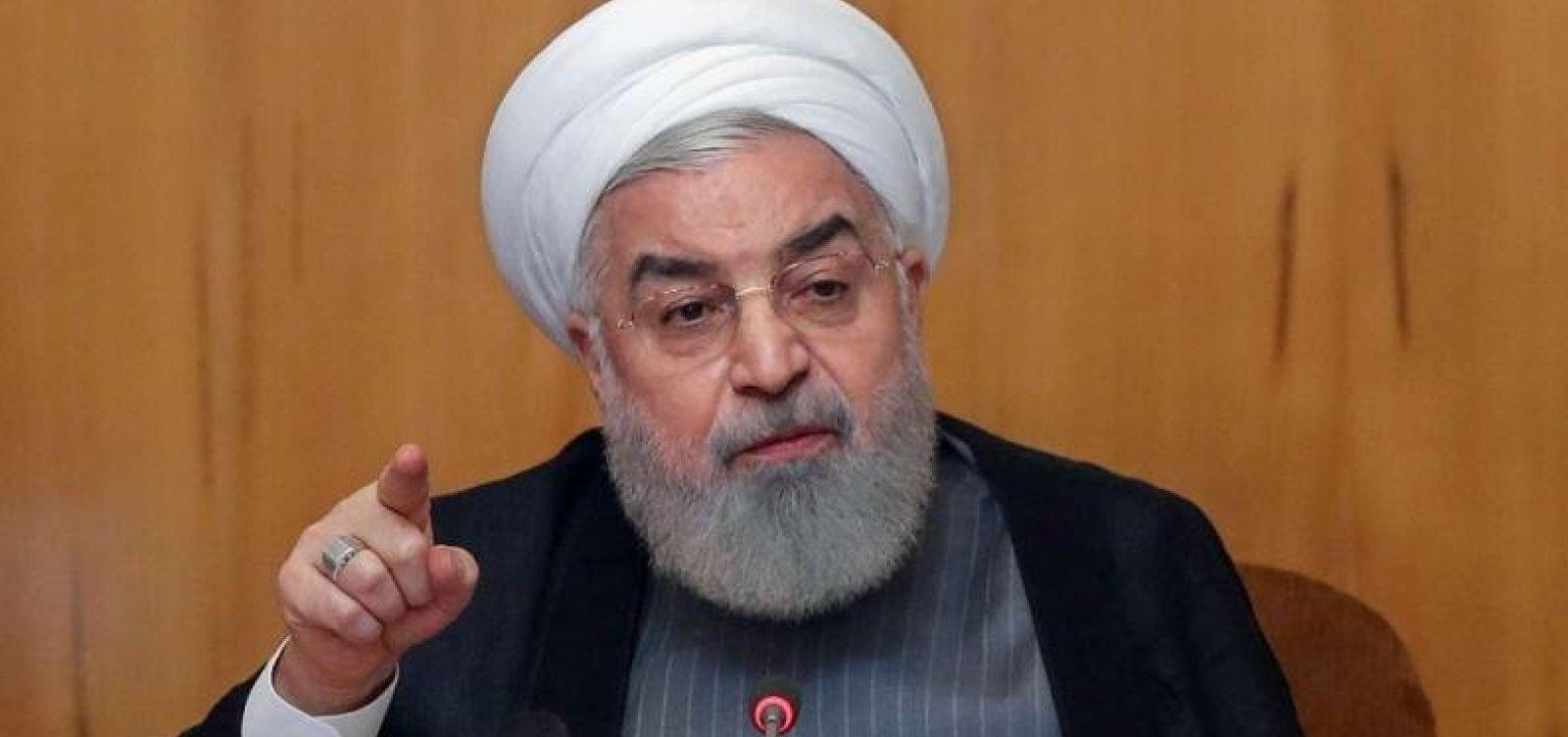 [Irã diz estar disposto a negociar com os EUA se as sanções forem retiradas]