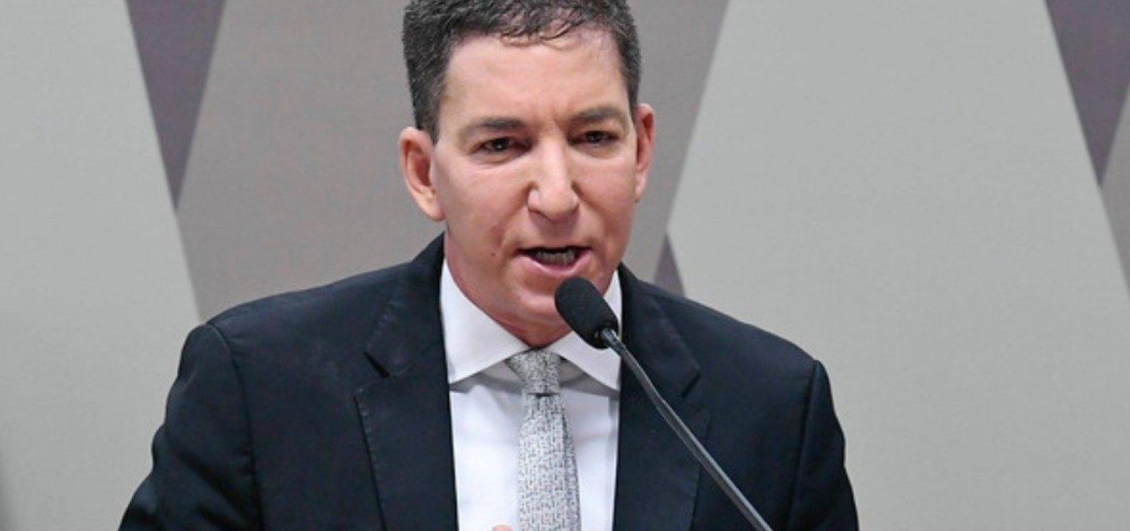 [PF prepara prisão contra 'Vaza Jato', diz Gleen Greenwald]