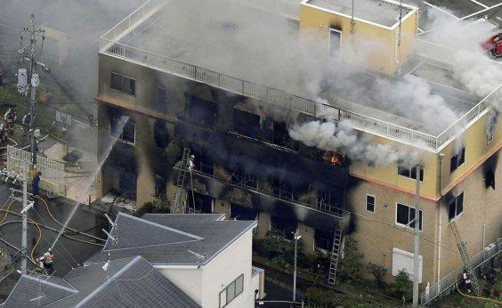 [Incêndio criminoso deixa ao menos 13 mortos em estúdio no Japão]