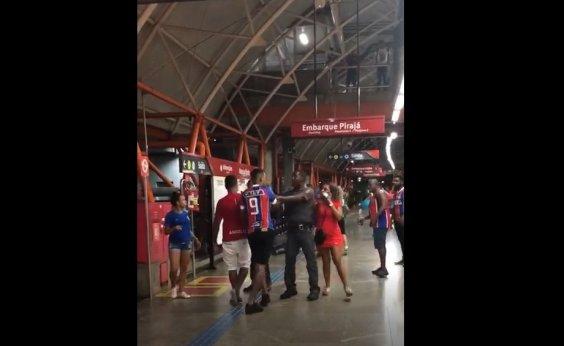 [Torcedores brigam após eliminação do Bahia da Copa do Brasil; vídeo]