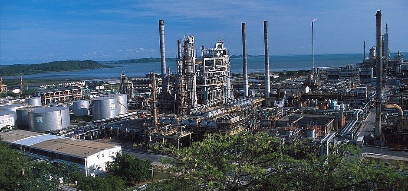 [Petroleiros marcam ato contra a venda da RLAM e da Transpetro]