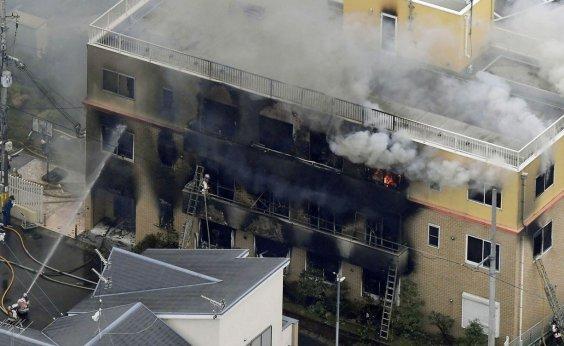 [Sobe para 33 o número de mortos em incêndio no Japão]