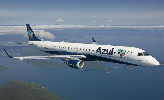 [Azul faz promoção de voos a partir de R$ 52,35 saindo de Feira de Santana]