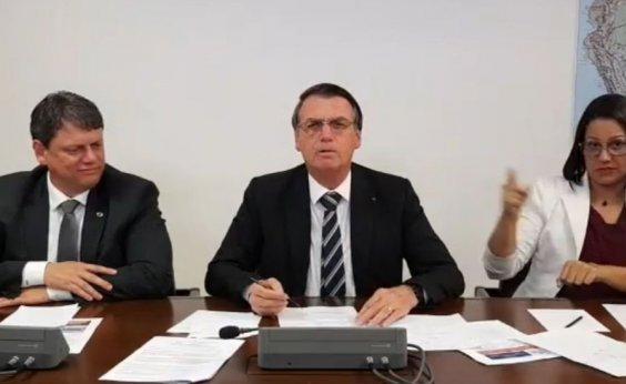 ['Dinheiro é do povo, não meu, nem de Rui Costa', diz Bolsonaro sobre aeroporto de Conquista]