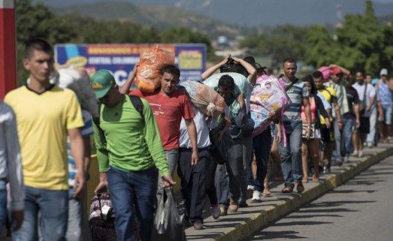 [ Relatório aponta que 14% dos imigrantes venezuelanos viraram mendigos na fuga do país]